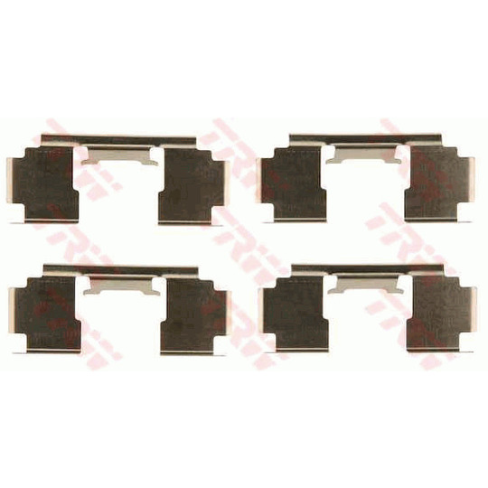 PFK397 - Accessory Kit, disc brake pad