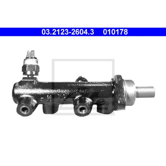 03.2123-2604.3 - Brake Master Cylinder