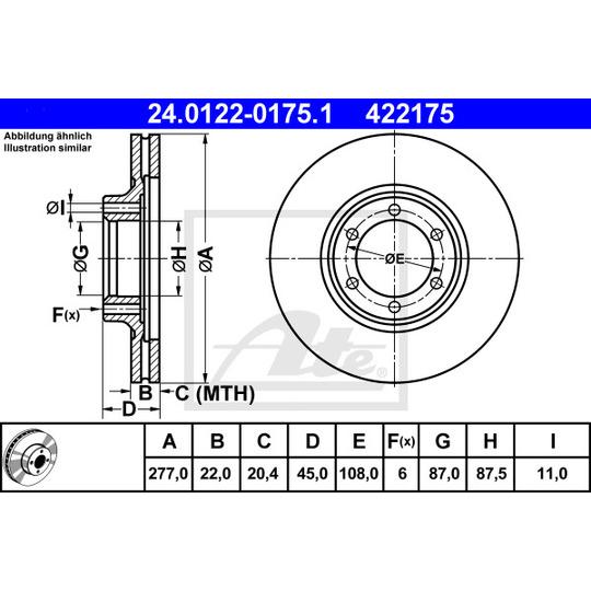 24.0122-0175.1 - Brake Disc