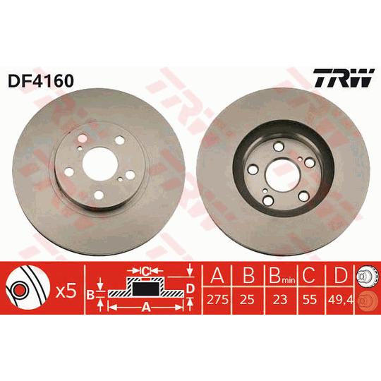 DF4160 - Piduriketas