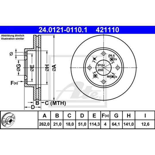 24.0121-0110.1 - Brake Disc