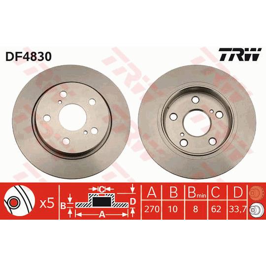DF4830 - Piduriketas