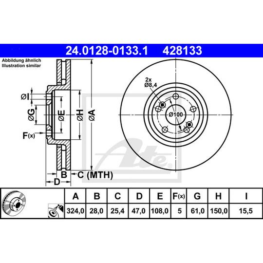 24.0128-0133.1 - Brake Disc