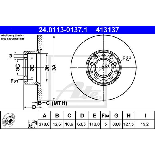24.0113-0137.1 - Brake Disc