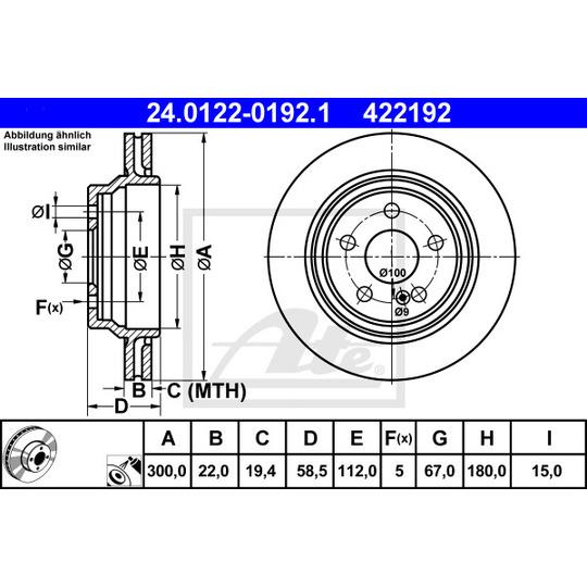 24.0122-0192.1 - Brake Disc