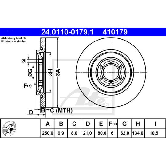 24.0110-0179.1 - Brake Disc