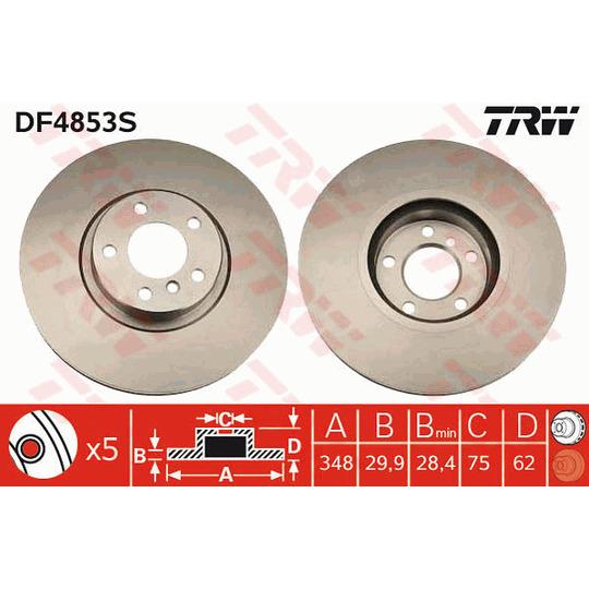 DF4853S - Piduriketas