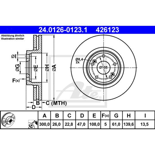 24.0126-0123.1 - Brake Disc
