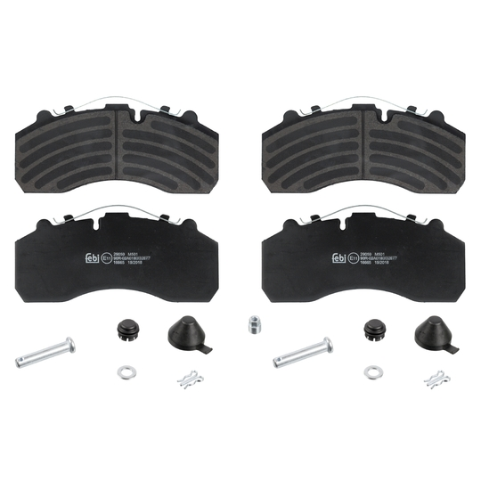 16665 - Brake Pad Set, disc brake