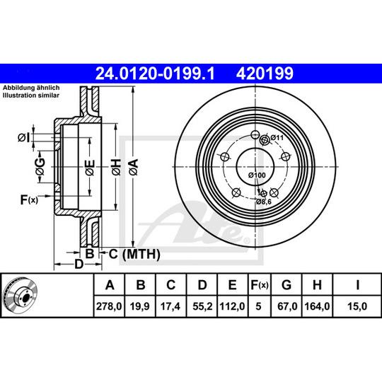24.0120-0199.1 - Brake Disc