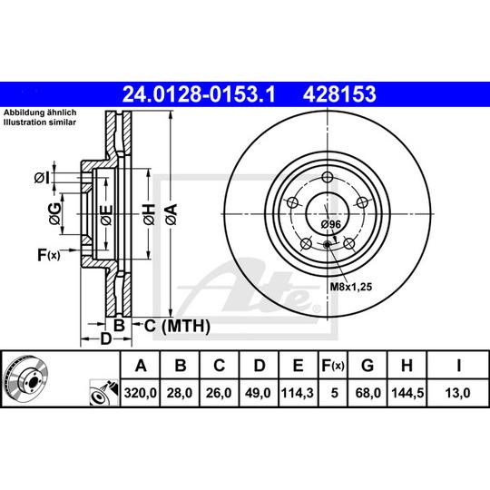 24.0128-0153.1 - Brake Disc