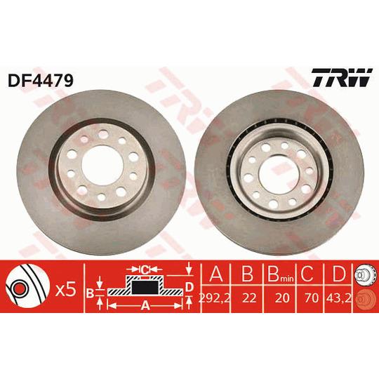 DF4479 - Brake Disc