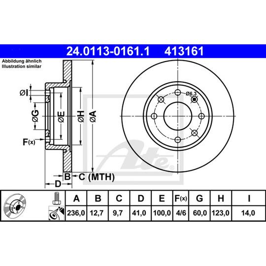 24.0113-0161.1 - Brake Disc