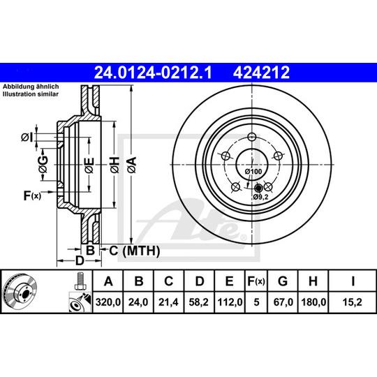 24.0124-0212.1 - Brake Disc
