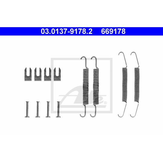03.0137-9178.2 - Accessory Kit, brake shoes