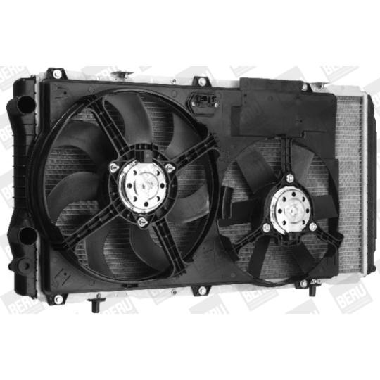 LEK 006 - Fan, radiator