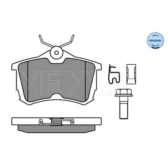 025 235 2714/W - Brake Pad Set, disc brake