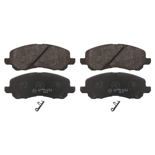 16741 - Brake Pad Set, disc brake