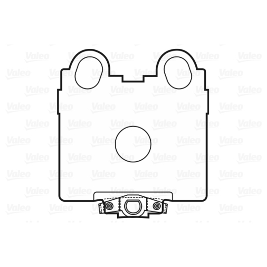 601025 - Brake Pad Set, disc brake
