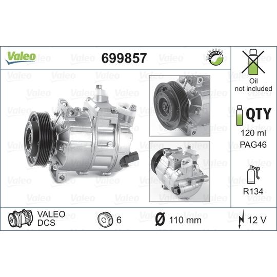 699857 - Kompressor, kliimaseade