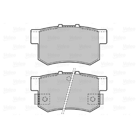 598682 - Brake Pad Set, disc brake